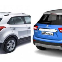 Maruti Brezza To Hyundai Creta: India's 5 Best-Selling SUVs